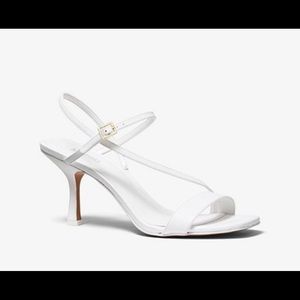 Michael Kors Tasha heeled sandal - white
